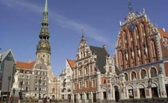 Riga, la capital de Letonia